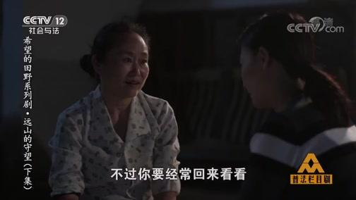 普法栏目剧希望的田野系列剧远山的守望(下集)20191011